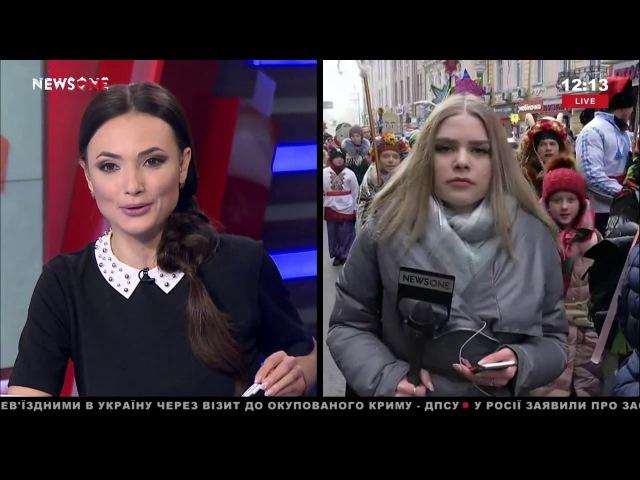 Корреспондент NewsOne рассказала о подробностях парада вертепов в Харькове 13 01 18
