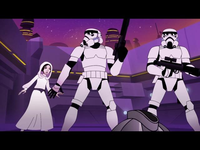Звёздные Войны Силы Судьбы (Forces of Destiny) - Эпизод 8 Неприятности с охотником за головами