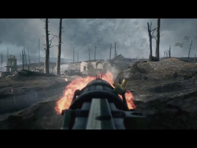Battlefield 1 Trench Warfare British Defense No HUD