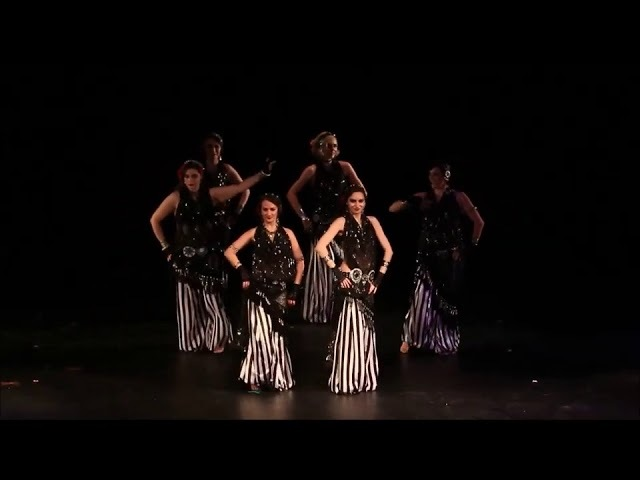 Balcan Tribal Fusion - senior students - Amber Tribe Studio -Табакерка из слоновой кости 25/02/2018