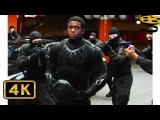 Чёрная Пантера против Зимнего Солдата. Погоня Первый мститель Противостояние ...