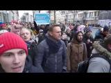 Алексея Навального ЗАДЕРЖАЛИ 28 января