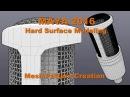 MAYA 2016 Hard Surface Modeling Mesh Pattern Creation for Studio Microphone