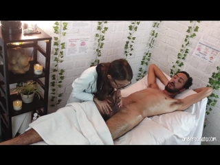 Massage parlor hidden cam amp; happy ending!