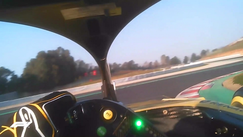 Visor Cam! Onboard with Hulkenberg in the 2018 Renault