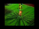 Олимпиада 1980церемония закрытияПрощание с олимпийским мишкой [720]