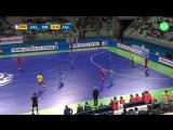 ЕВРО-2018. 1/4 ФИНАЛА. Сербия v Казахстан. 1:3. Обзор.