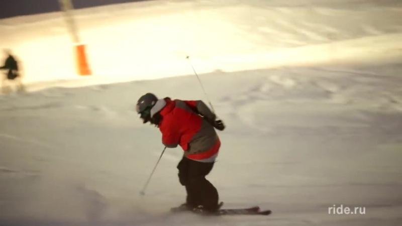 Основы прыжков с трамплина на лыжах (Kicker jumping basics ski)