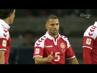 Дания - Германия 1:1. Обзор товарищеского матча.