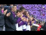 Матч «Фиорентины» остановили на 13-й минуте, чтобы почтить память Давиде Астори