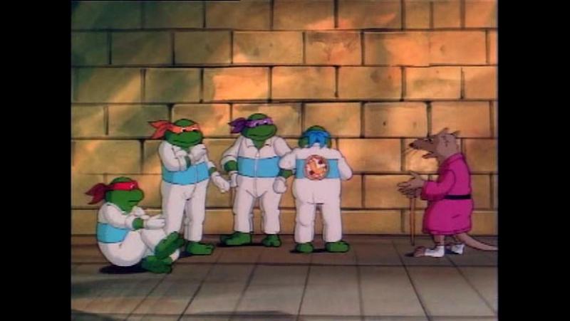 TMNT 1987 серия 10 (Проклятие глаза Сарн)
