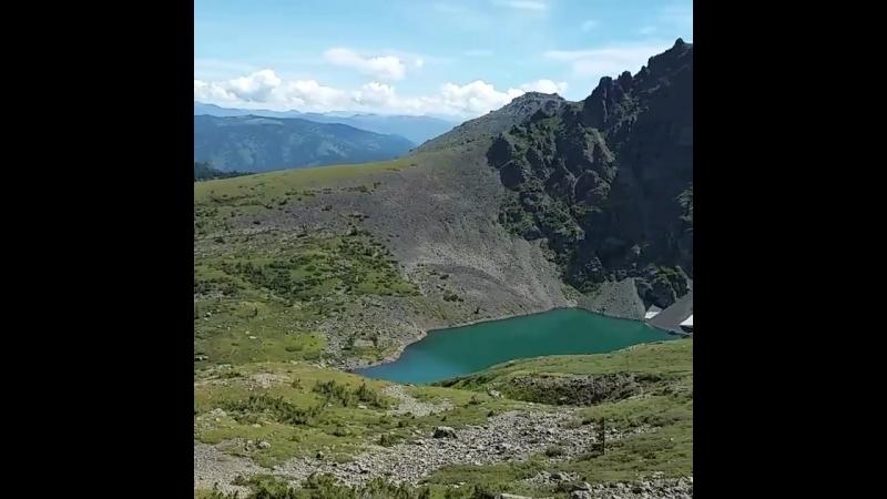 озера на Красной горе в Горном Алтае