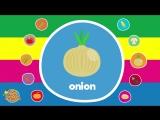 Learn Vegetable Names _ Video Flash Cards _ Kindergarten, Preschool, ESL for Kids _ Fun Kids English