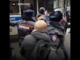 Алексей Навальный задержан в Москве