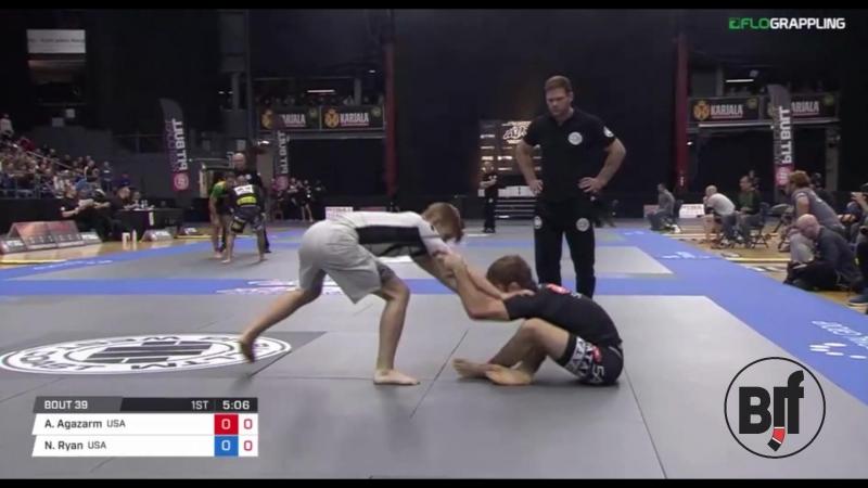 AJ Agazarm vs Nicky Ryan ADCC17 World