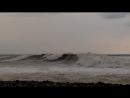 Шторм на море 1 марта 2018 г. Пляж Чайка