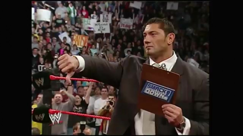 Batista decides which champion he will face off against at WrestleMania 21 - YouTube