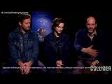 Эксклюзивное интервью Collider c Тимоти Шаламэ, Арми Хаммером и Лукой Гуаданьино (RUS SUB)