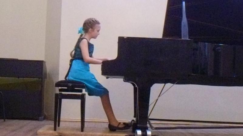 Алиса Анисимова, 10 лет, П. И. Чайковский
