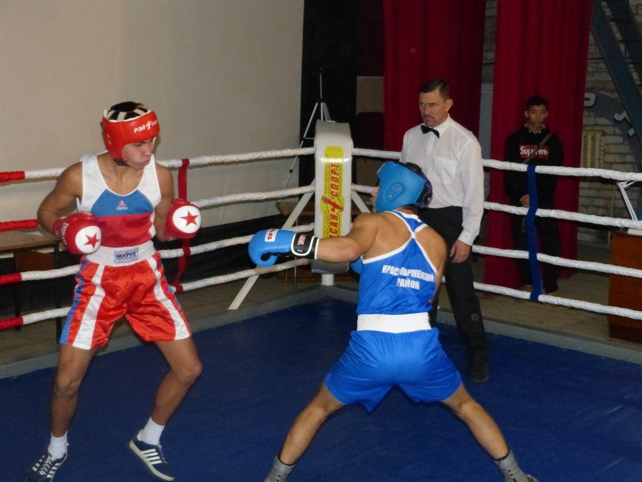 Третий открытый турнир по боксу на призы главы Красноармейского муниципального района