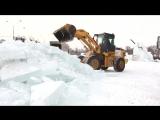 Строительство пермского ледового городка