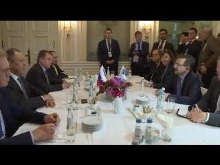 С Генсеком ОБСЕ в Мюнхене