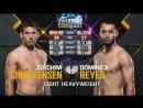 UFC Fight Night 112 Йоахим Кристенсен vs Доминик Рейес обзор боя