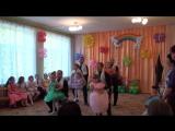 Выпускной. Танец пап и дочек