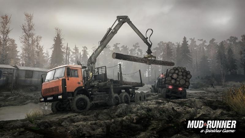 Месим грязь   Spintires: MudRunner