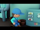 Yum Yum Yum! Carl Washes Healthy Food Trucks at Carls Car Wash   Cartoons for kids