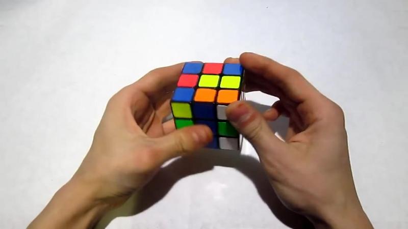 Как собрать кубик Рубика 3x3 _ Часть 2
