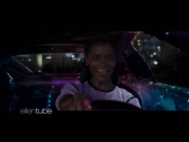 Black Panther Car Chase Clip