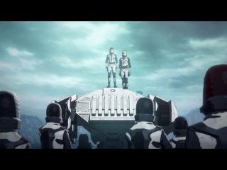 Godzilla: Kaijuu Wakusei 1 фильм русская озвучка Shoker / Годзилла: Планета чудовищ Movie 01 2ч