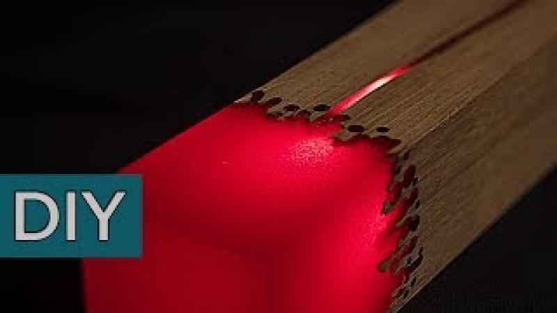 Как сделать лампу ценою 1100 евро из эпоксидной смолы. Стройхак