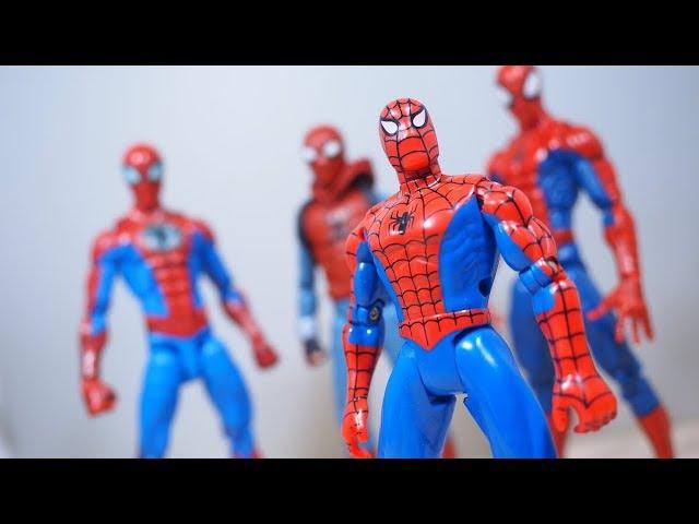 Spider-man TAS WEB GLIDER SPIDER-MAN Figure Review (1995)