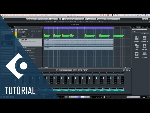 Brand New Metronome Hands on the New Features in Cubase Pro 9 5