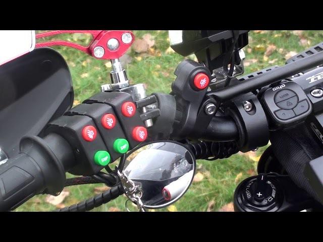 Мощный электрический велосипед Terminator. Электровелосипед, с юмором. Сделано в Рос ...