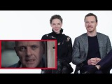 Michael Fassbender Reviews Serial Killer Movies with Rebecca Ferguson Vanity Fair
