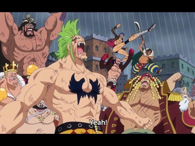 Straw Hat Grand Fleet vs Donquixote Family「AMV」- One Piece