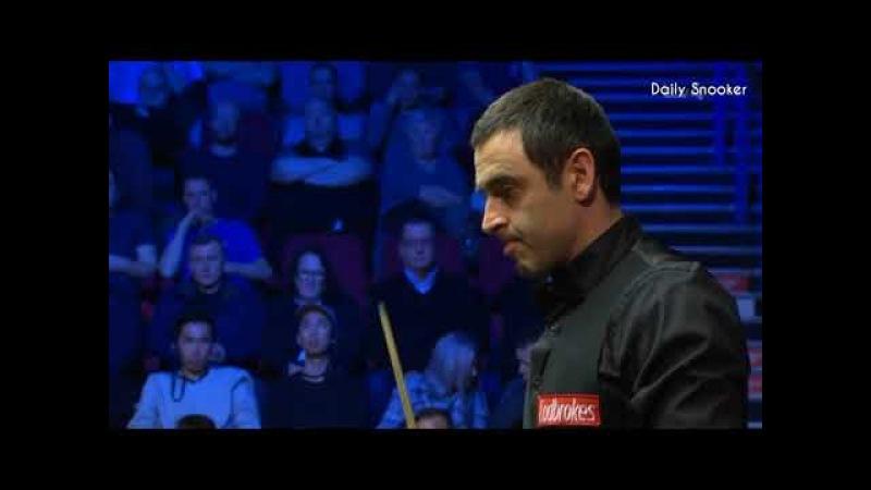 Ronnie O'Sullivan vs Stephen Maguire (Frame 10) Semi-Final World Grand Prix Snooker 2018