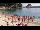 The Rebellions Greek Dancing on the Beach Parga 2015