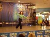 Валерия Охотницкая. Неаполитанский танец (труба + степ). Крутой номер!