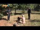 Як поліція виганяла підстаркуватого нудиста з парку на Солом'янці