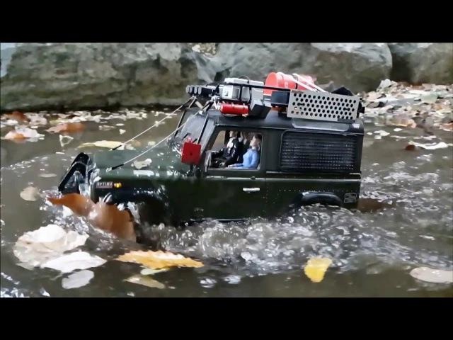 RC4WD D90 Land Rover Defender Gaya Valley Adventure 2