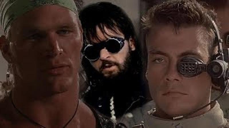 5 крутых мужских фильмов 80-90 х. Универсальный солдат, Американский ниндзя, В погоне за тенью