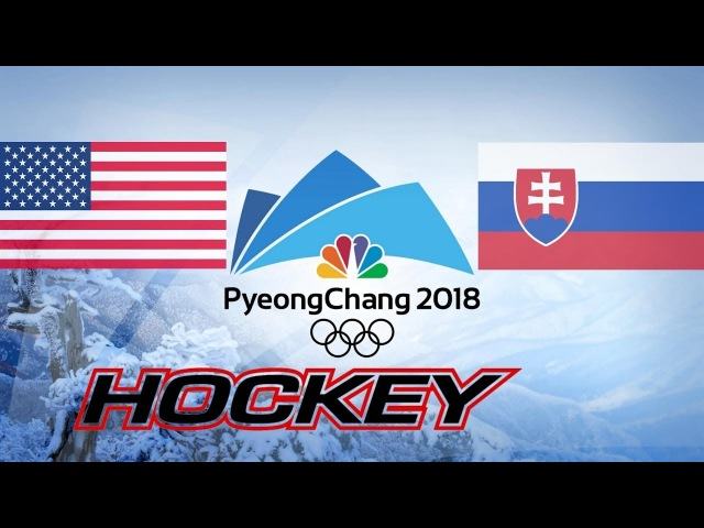 USA vs SLOVAKIA, 1/8, Olympics Game 2018, Highlights Hockey...