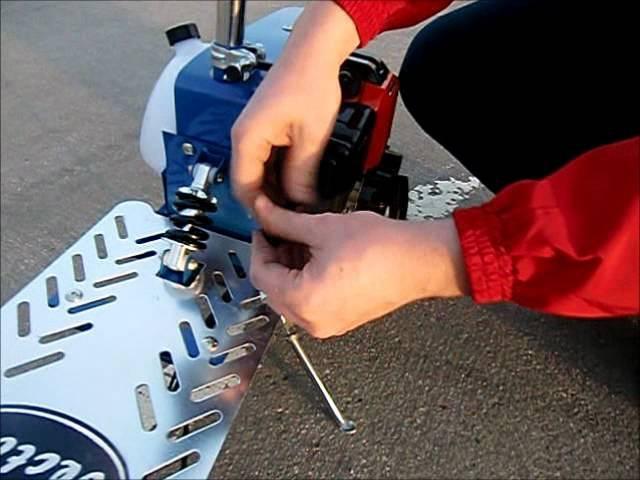 Замена воздушного фильтра в мотосамокате Вектор-3