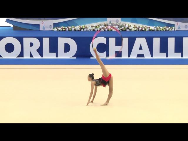 Сабина Аширбаева - обруч (многоборье) - World Challenge Cup, Kazan, Россия - 2017.