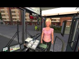 OMSI The Bus Simulator - City Bus O305 Ticket Selling Gameplay HD