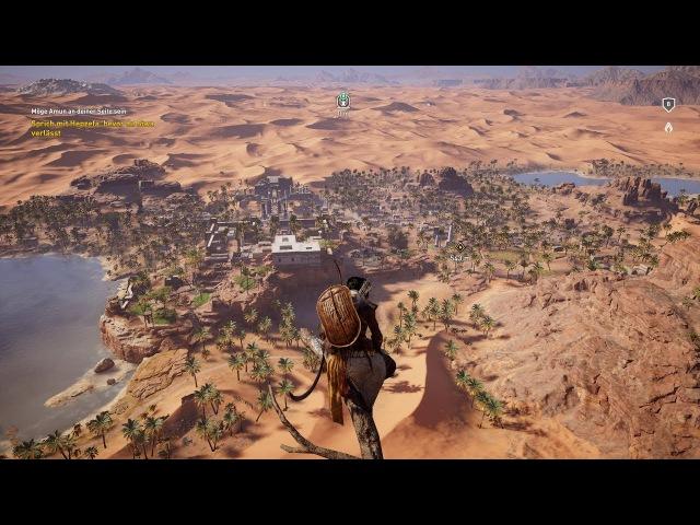 Assassin's Creed Origins. Full HD GamePlay.DE: Folge 2 Siwa Missionen und ect.